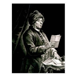 Portrait of Benjamin Franklin, 1777 Postcard
