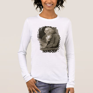 Portrait of Benjamin Franklin, engraved by Thomas Long Sleeve T-Shirt