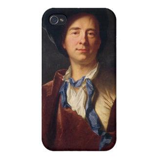 Portrait of Bernard le Bovier de Fontenelle Cover For iPhone 4