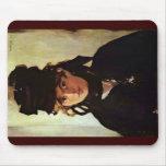 Portrait Of Berthe Morisot Mouse Pad