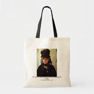 Portrait Of Berthe Morisot Budget Tote Bag