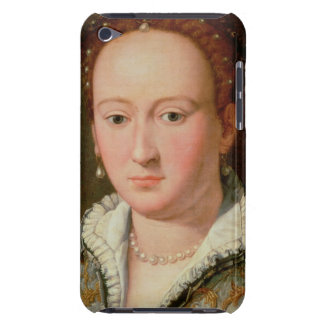 Portrait of Bianca Cappello, c.1580 (oil on copper Barely There iPod Cover