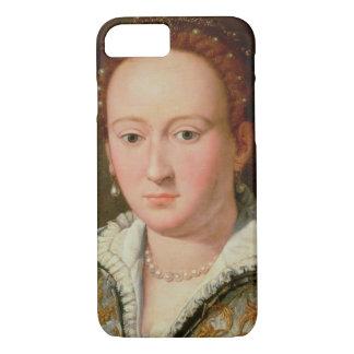 Portrait of Bianca Cappello, c.1580 (oil on copper iPhone 8/7 Case