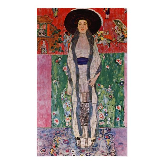 Portrait of Bloch-Bauer by Gustav Klimt Poster