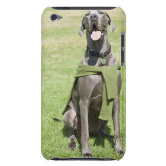 Portrait of Blue Great Dane iPod Touch Case-Mate Case