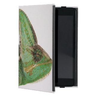 Portrait of boldly colored Yemen chameleon iPad Mini Case