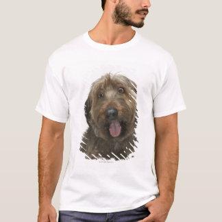 Portrait of Briard dog T-Shirt