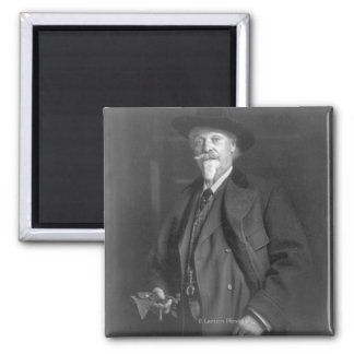 "Portrait of ""Buffalo Bill"" Cody Fridge Magnet"