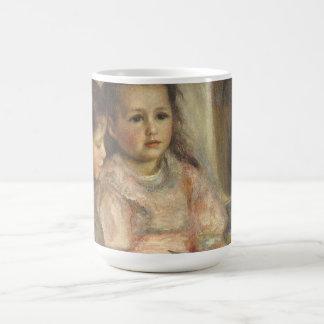 Portrait of Caillebotte Children by Pierre Renoir Coffee Mug