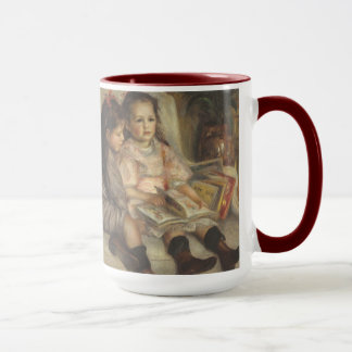 Portrait of Caillebotte Children by Pierre Renoir Mug