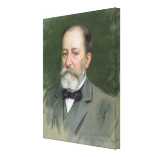 Portrait of Camille Saint-Saens  1903 Canvas Print