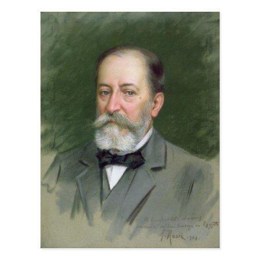 Portrait of Camille Saint-Saens  1903 Post Card