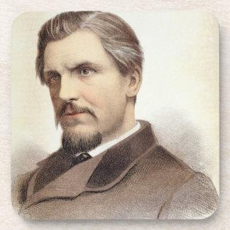 Portrait of Captain James Augustus Grant (1827-87) Coaster