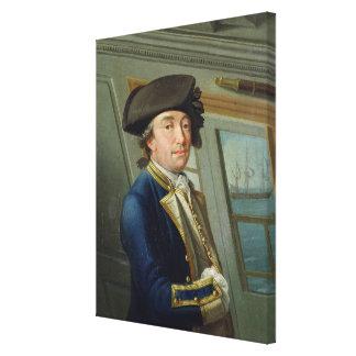 Portrait of Captain William Locker (1731-1800) 176 Canvas Print