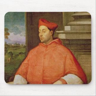 Portrait of Cardinal A. Pallavicini, 1512 Mouse Pad