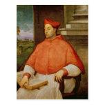 Portrait of Cardinal A. Pallavicini, 1512 Postcard