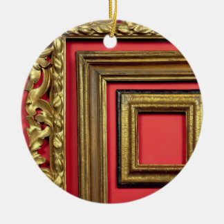 Portrait of Cardinal Agucchi, 1605 (oil on canvas) Christmas Ornament