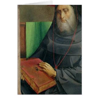 Portrait of Cardinal Bessarion  c.1475 Card