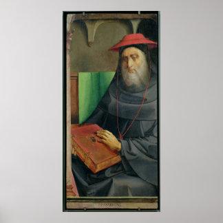 Portrait of Cardinal Bessarion  c.1475 Poster