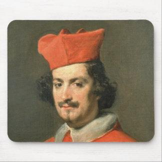 Portrait of Cardinal Camillo Astali Pamphili Mouse Mat