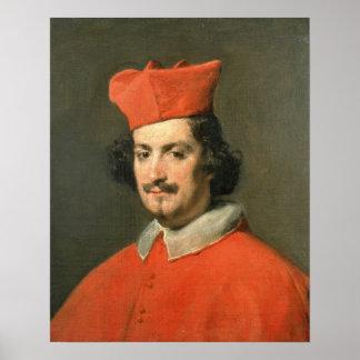 Portrait of Cardinal Camillo Astali Pamphili Poster