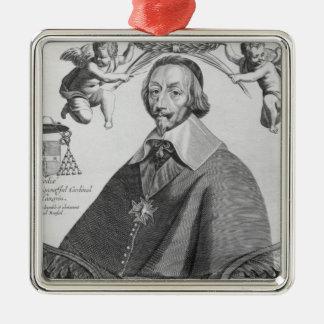 Portrait of Cardinal de Richelieu Christmas Ornament