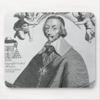 Portrait of Cardinal de Richelieu Mouse Mat