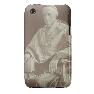 Portrait of Cardinal Henry Edward Manning (1808-92 iPhone 3 Cover