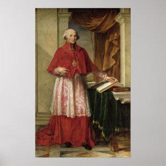 Portrait of Cardinal Joseph Fesch  1806 Poster