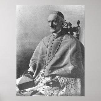 Portrait of Cardinal Manning Poster