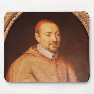 Portrait of Cardinal Pierre de Berulle Mouse Pad