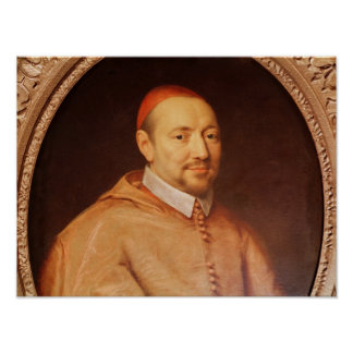Portrait of Cardinal Pierre de Berulle Print