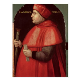 Portrait of Cardinal Thomas Wolsey Postcard