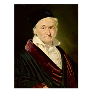 Portrait of Carl Friedrich Gauss, 1840 Postcard