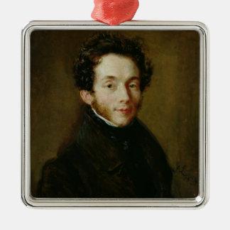 Portrait of Carl Maria Friedrich Ernst von Christmas Ornament