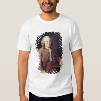 Portrait of Carl von Linnaeus Tee Shirts