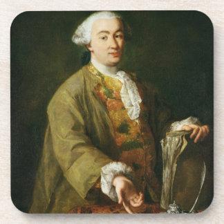 Portrait of Carlo Goldoni Coaster