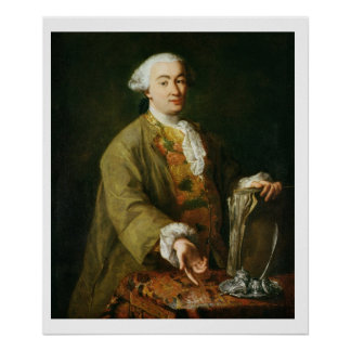Portrait of Carlo Goldoni Poster
