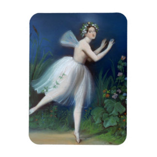 'Portrait of Carlotta Grisi in Giselle' by Magnet