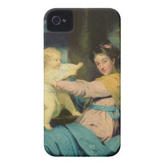 Portrait of Caroline, Duchess of Marlborough with iPhone 4 Case