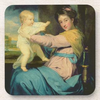 Portrait of Caroline, Duchess of Marlborough with Drink Coasters