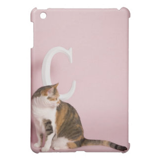 Portrait of cat iPad mini case
