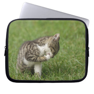 Portrait of Cat Laptop Sleeve