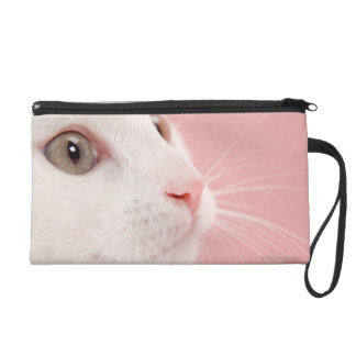 Portrait of cat wristlet