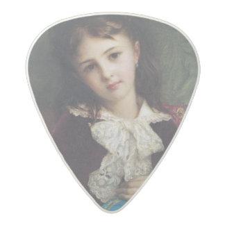 Portrait of Catherine du Bouchage, 1879 Acetal Guitar Pick