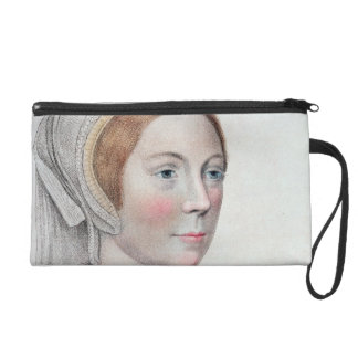 Portrait of Catherine Howard (1520-42) engraved by Wristlet Purse
