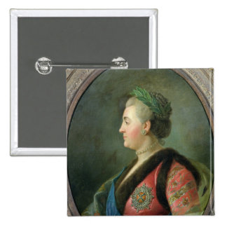 Portrait of Catherine II  of Russia Pinback Buttons