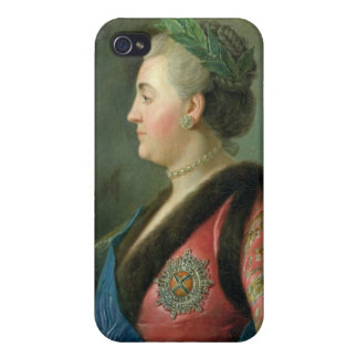 Portrait of Catherine II of Russia iPhone 4 Cover
