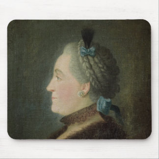 Portrait of Catherine II  of Russia Mouse Mat