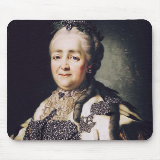 Portrait of Catherine II  of Russia Mouse Pad